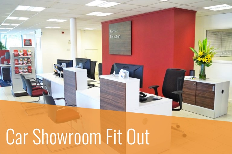 Car Showroom Fitout